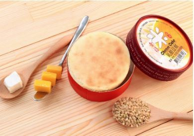 米乳酪旦糕(1入)(奶素)