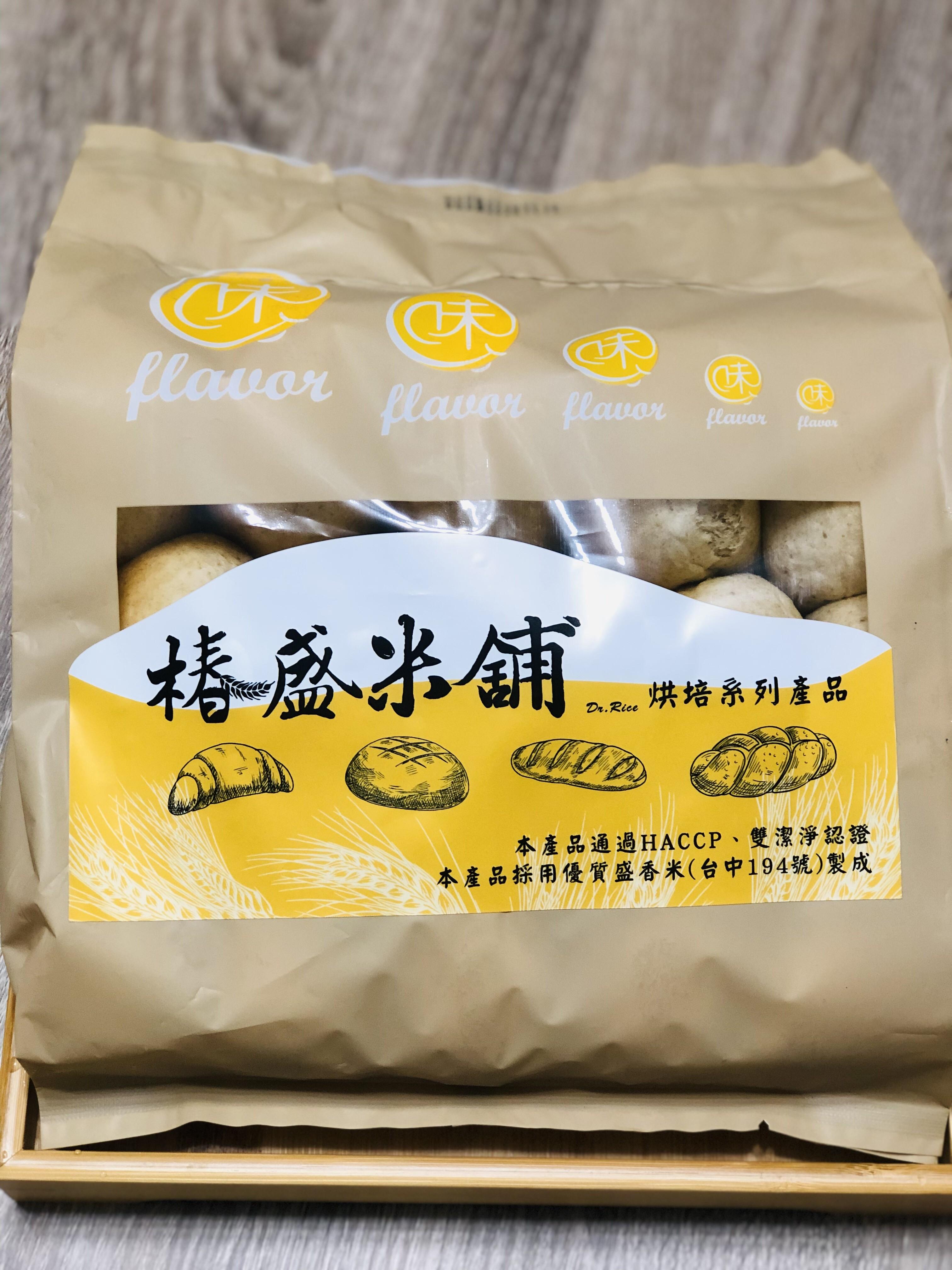 椿盛米舖 - 糙米小餐包 (15入)(奶素)